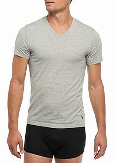 Polo Ralph Lauren Stretch Jersey V-Neck T-Shirt - 2 Pack