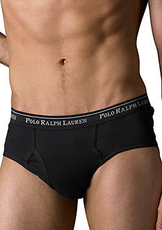 Polo Ralph Lauren Big & Tall Two-Pack Mid-Rise Briefs