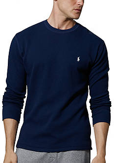 Polo Ralph Lauren Big & Tall Thermal Crew Neck Shirt
