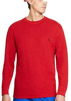 Polo Ralph Lauren Big & Tall Thermal Crew Neck Shirt