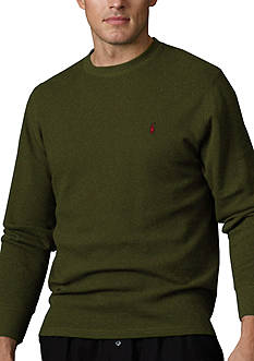 Polo Ralph Lauren Long-Sleeved Tipped Crewneck Thermal