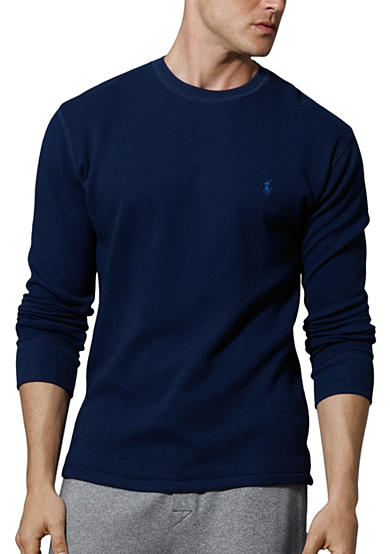 Polo Ralph Lauren Long-Sleeved Crewneck Thermal<br>