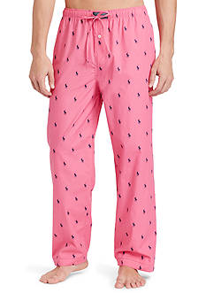 Polo Ralph Lauren Pony-Print Cotton Pajama Pants