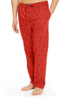 Polo Ralph Lauren Pony Print Woven Lounge Pants