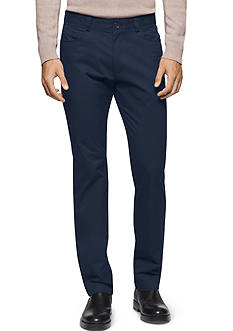 Calvin Klein Slim-Fit Bowery Sateen Pants