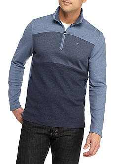 Calvin Klein Mock Neck Quarter Zip Shirt
