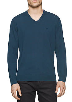 Calvin Klein V-Neck Merino Sweater