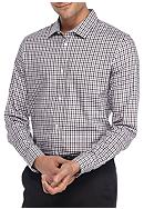 Calvin Klein Long Sleeve Herringbone Gingham