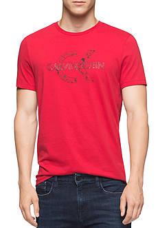 Calvin Klein Men's Short Sleeve Calvin Klein Logo Tee