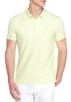 Calvin Klein Short Sleeve Liquid Cotton Polo Shirt