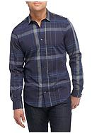 Calvin Klein Long Sleeve Plaid Button Down Shirt