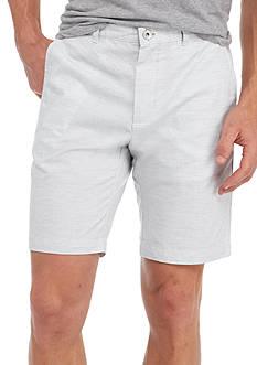 Calvin Klein 9-in. Cotton Slub Shorts