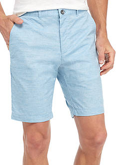Calvin Klein 9-in. Cotton Slub Shorts