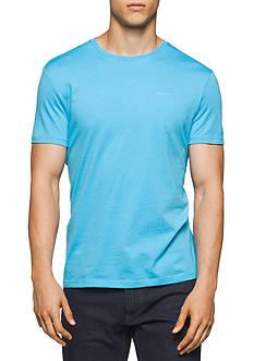 Calvin Klein Short Sleeve Solid Pima Jersey Shirt