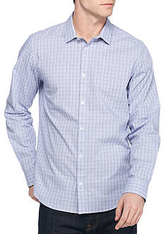 Calvin Klein Long Sleeve Modern Classic Small Check Shirt