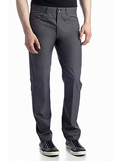 Calvin Klein Slim-Fit Flat-Front 5 Pocket Pants