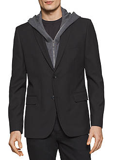 Calvin Klein Long Sleeve Hooded Sport Jacket