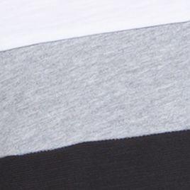 Modern Man Polos: Black Combo Calvin Klein Liquid Cotton Short Sleeve Slub Jersey Color Blocked Polo Shirt
