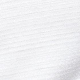 White Sweaters for Men: White Calvin Klein Slim Fit V-Neck Tee