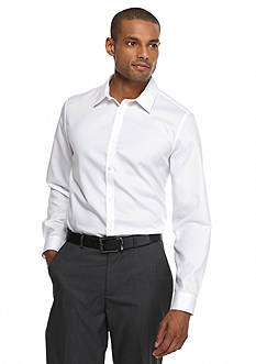 Calvin Klein Non-Iron Long Sleeve Button-Down Shirt