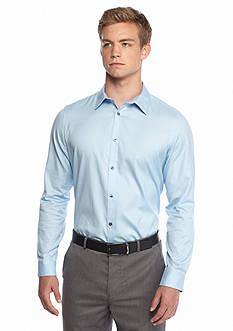 Calvin Klein Non-Iron Long Sleeve Button-Down Shirt
