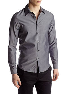 Calvin Klein Slim Fit Chambray Twill Shirt