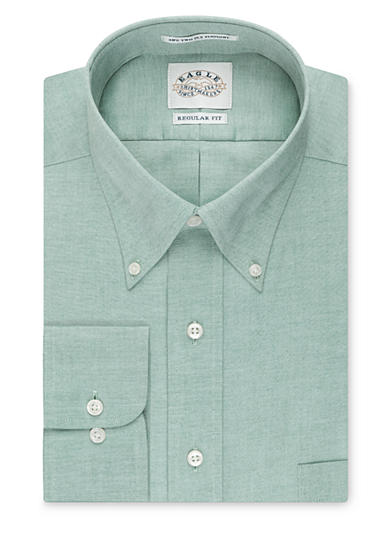Eagle Shirtmakers Non-Iron Regular-Fit Dress Shirt