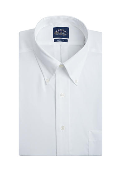 Eagle Shirtmakers Slim Fit Non-Iron Dress Shirt