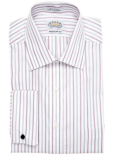 Eagle Shirtmakers Non-Iron French Cuff Dress Shirt