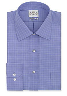 Eagle Shirtmakers Big & Tall Non-Iron Check Dress Shirt