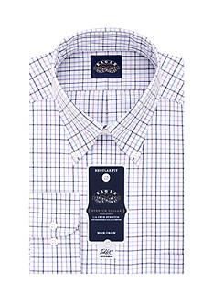 Eagle Shirtmakers Non Iron Stretch Collar Regular Fit Dress Shirt