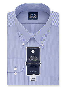 Eagle Shirtmakers Non-Iron Regular Fit Stretch Collar Dress Shirt