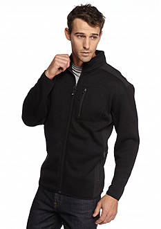 WEATHERPROOF: 32 Degrees Marled Knit Full-Zip Jacket