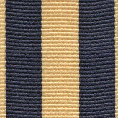 Suspenders for Men: Blue/Yellow Trafalgar Classic Chase Stripe Suspender
