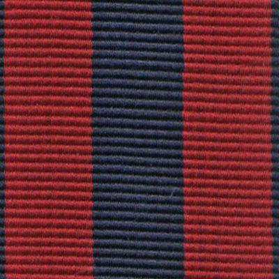 Suspenders for Men: Red/Navy Trafalgar Classic Chase Stripe Suspender