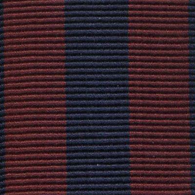 Trafalgar Accessories: Burgundy/Navy Trafalgar Classic Chase Stripe Suspender