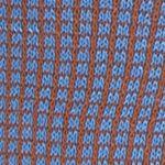 Tallia Orange Men Sale: Brown Blue Tallia Orange Neat Grid Print Socks - Single Pair