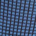Men: Casual Sale: Navy Blue Tallia Orange Neat Grid Print Socks - Single Pair
