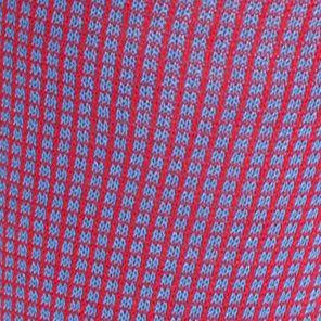 Tallia Orange Men Sale: Red Blue Tallia Orange Neat Grid Print Socks - Single Pair
