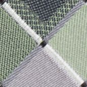 Men: Madison Accessories: Green Madison San Jose Square Tie