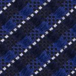 Mens Ties: Solid: Blue Madison Non- Solid Tie
