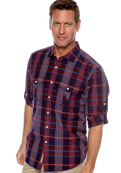 Tommy Bahama® Pagoda Plaid Shirt