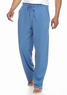 Saddlebred® Jersey Knit Lounge Pants With Contrast Color Piping