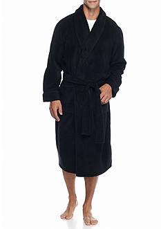 Saddlebred Chevron Textured Shawl Robe