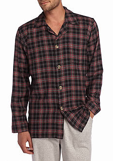 Saddlebred® Flannel Lounge Shirt