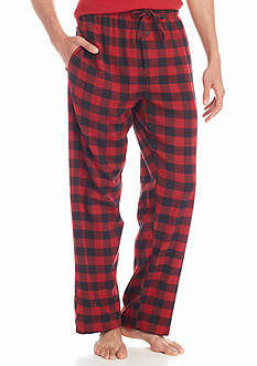 Saddlebred® Flannel Buffalo Plaid Lounge Pants