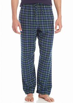 Saddlebred Big & Tall Flannel Plaid Lounge Pants