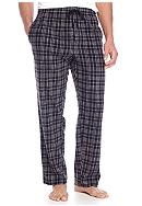 Saddlebred® Plaid Microfleece Lounge Pants