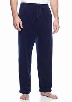 Saddlebred Big & Tall Solid Fleece Lounge Pants