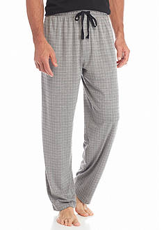 Saddlebred Knit Grid Lounge Pants